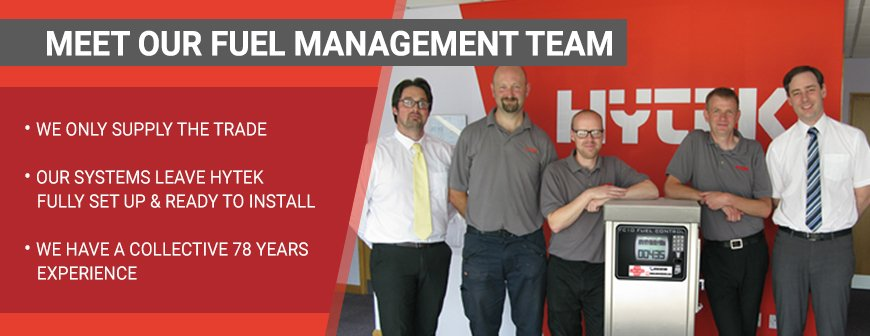 Hyteks Fuel Management Team: Collective 78 years experience